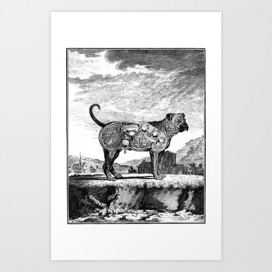 PROTICA IV Art Print