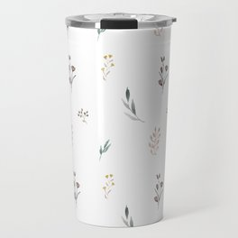 Little botanics pastel pattern Travel Mug