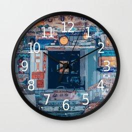 When in Bahamas Wall Clock