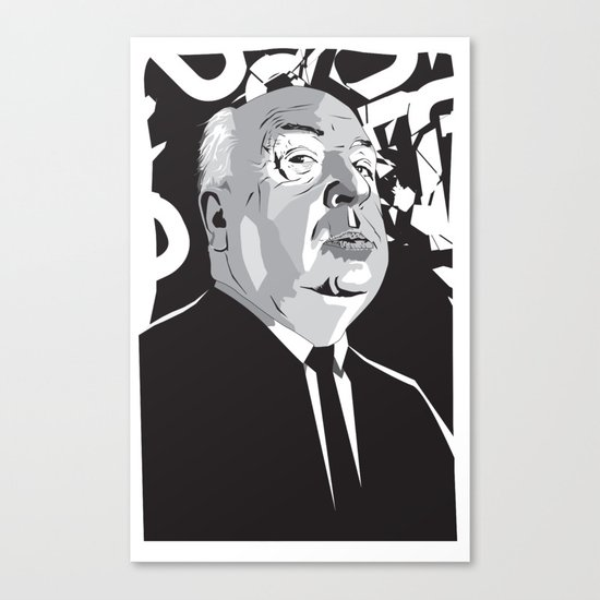 Hitchcock Canvas Print