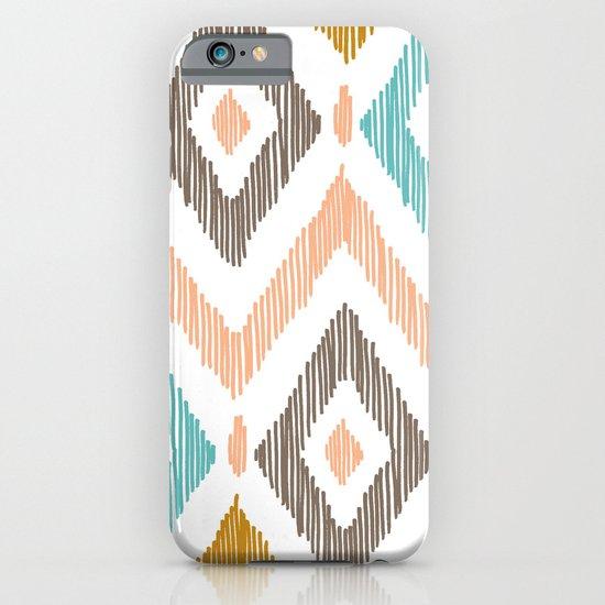 Sketchy Diamond IKAT iPhone & iPod Case