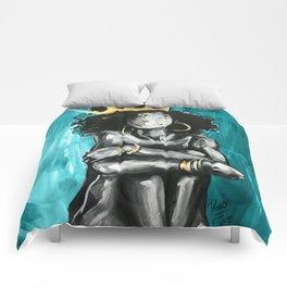 Naturally Queen IX TEAL Comforters