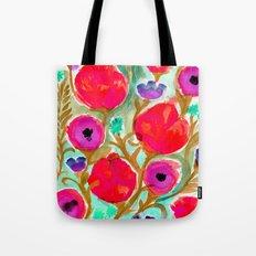 Fiona Flower Tote Bag