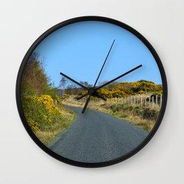 Road to Ladies Brae Wall Clock
