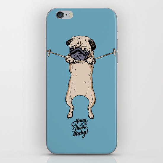 Hang in There Baby iPhone & iPod Skin