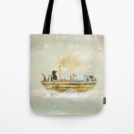 sky sailers Tote Bag