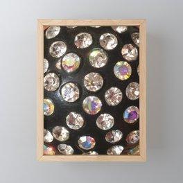 Diamonds Framed Mini Art Print