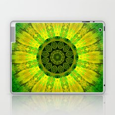 Lemon Lime Mandala  Laptop & iPad Skin