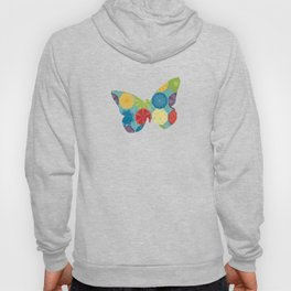 round and colour 6 Hoody