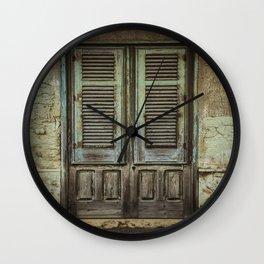 Italian Door III Wall Clock