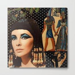 Cleo Collage Metal Print
