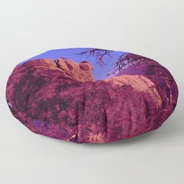 Southwestern Pink Floor Pillow