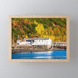 Fall in Digby, Nova Scotia. Canada. Framed Mini Art Print