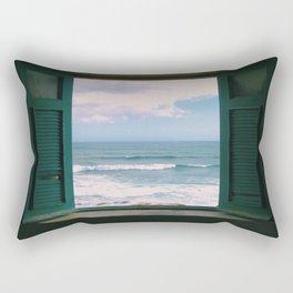 Atlantic Morning Rectangular Pillow