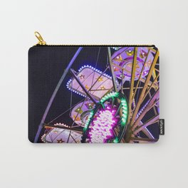 Ferris wheel with colored lights on a summer night Carry-All Pouch