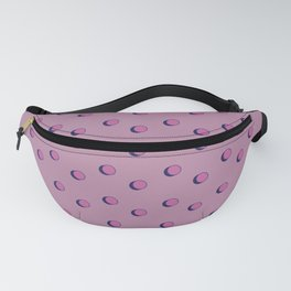 3D Dotted Pattern III Fanny Pack