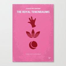 No320 My The Royal Tenenbaums minimal movie poster Canvas Print