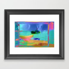 View of The Lady In Waiting Framed Art Print