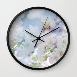 Heart's Delight, In Memory of Mackenzie Wall Clock