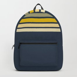Racing Retro Stripes Backpack