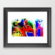 Spontaneous adventure Framed Art Print