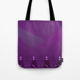 Disco Meditation Tote Bag