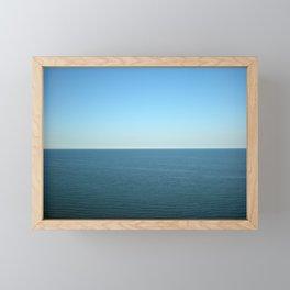 Horizon Line Framed Mini Art Print