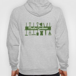 Master Gardener Simple Modern Forest Green Hoody