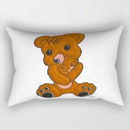 Teddy's Love Rectangular Pillow