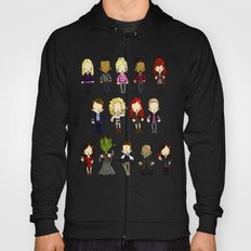 Doctors Companions and Friends V.2 Hoody