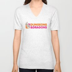 D&D All Nighter Unisex V-Neck