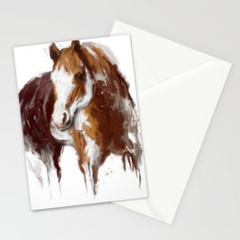 Paint Horse. Stationery Cards