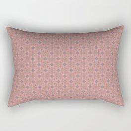 Rose & Grey ornate - Oil color textured pattern (II) Rectangular Pillow