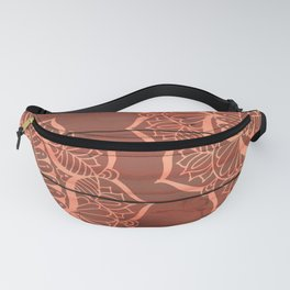 Wood Panel Mandalas Fanny Pack