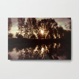 Kissed by the sun Metal Print