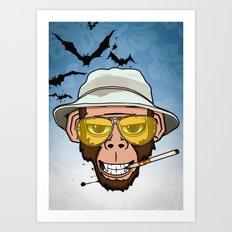 Monkey Business in Las Vegas Art Print