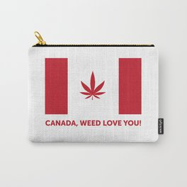 Canada legalization Carry-All Pouch