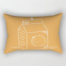 Orange Juice (mainichi) Rectangular Pillow