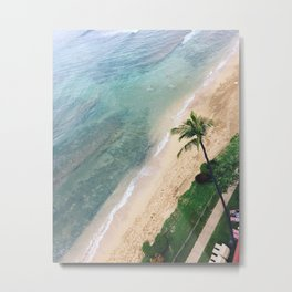 Soaring Over Maui Metal Print