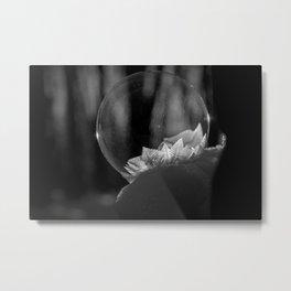Frozen Bubble Metal Print