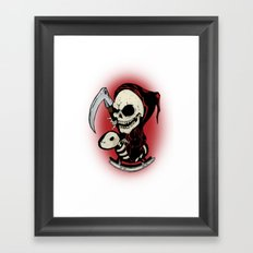 Baby Death Framed Art Print