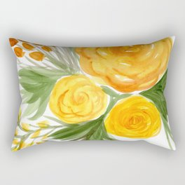 Harvest Floral Bouquet Rectangular Pillow