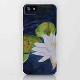 Muskoka Lilypad Flower iPhone Case