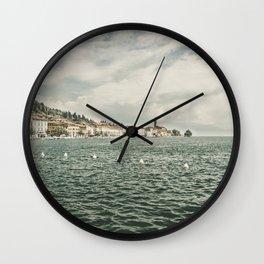 Salò sul Lago di Garda Wall Clock