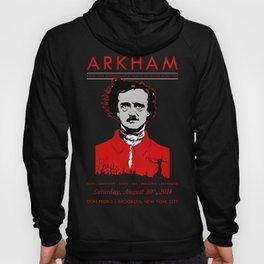ARKHAM Goth Club: 4-Year Anniversary (Black Version) Hoody