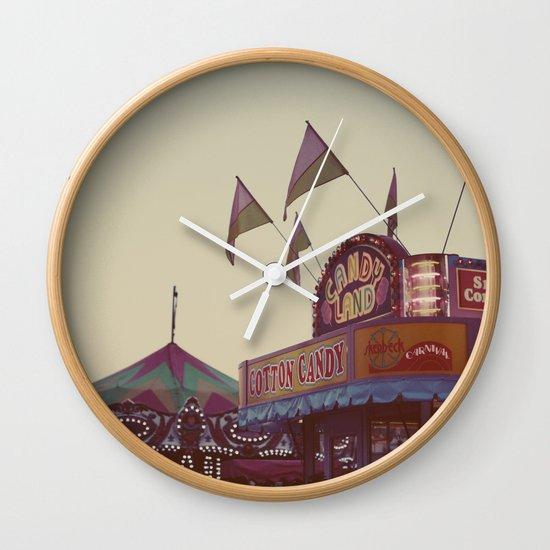 August Nights Wall Clock