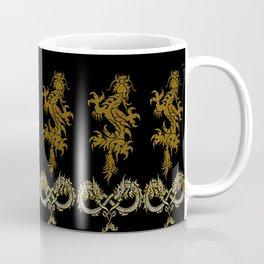 Muster Drachen - metallisch Coffee Mug