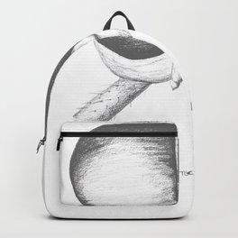 A Flys Dilemma - White Backpack