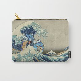 The Great Wave Off Gyarados Carry-All Pouch