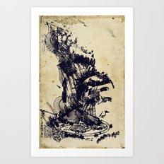 the architect's dream Art Print